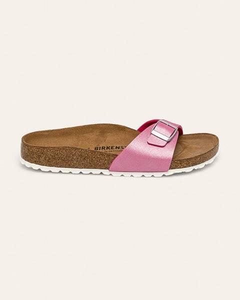 Růžové boty Birkenstock