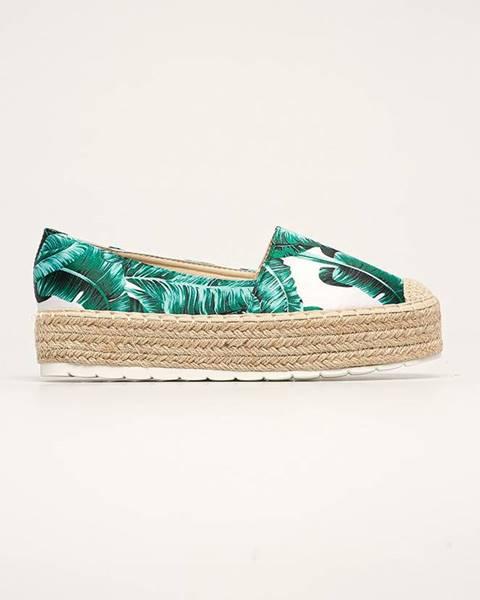 Zelené boty ANSWEAR