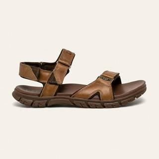 Caterpillar - Kožené sandály Brantley