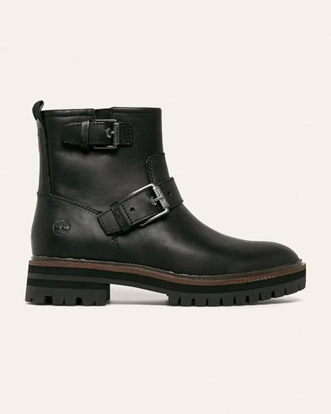Černé boty Timberland