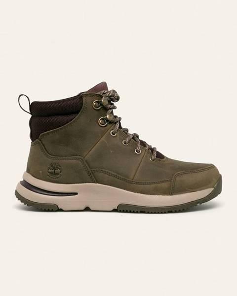 Šedé boty Timberland