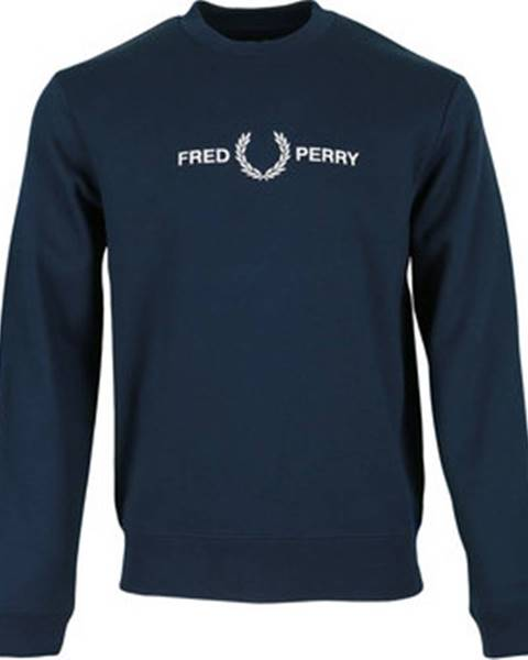 Modrá mikina Fred Perry