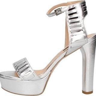 Sandály 733 Stříbrná