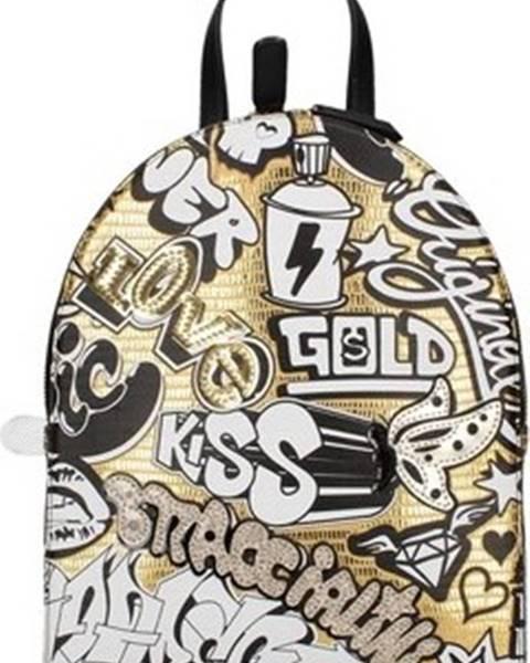Zlatý batoh Braccialini