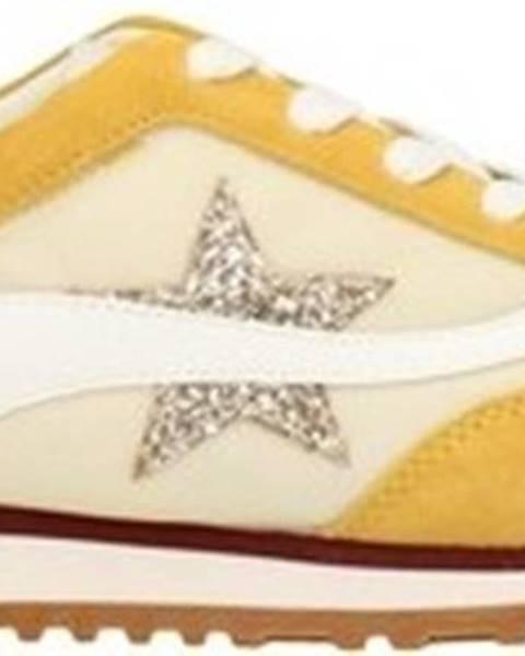 Žluté tenisky Emanuélle Vee
