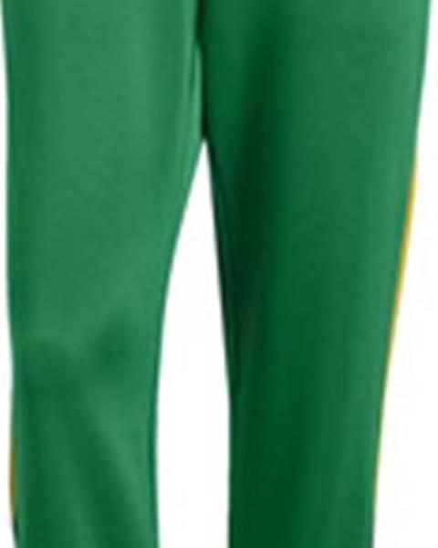 Zelené tepláky adidas