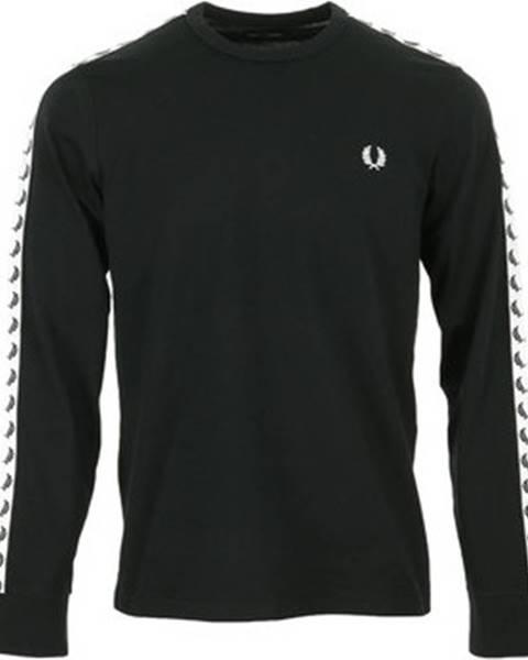 Černé tričko Fred Perry