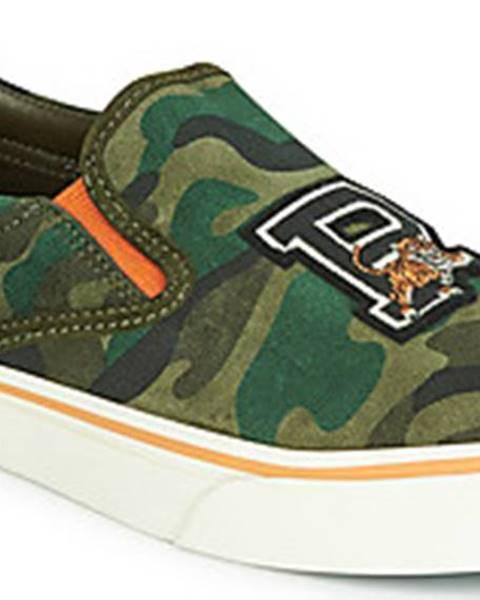 Zelené boty Polo Ralph Lauren