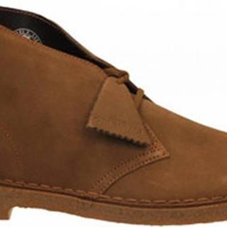 Kotníkové boty DESERTBOOT M Hnědá