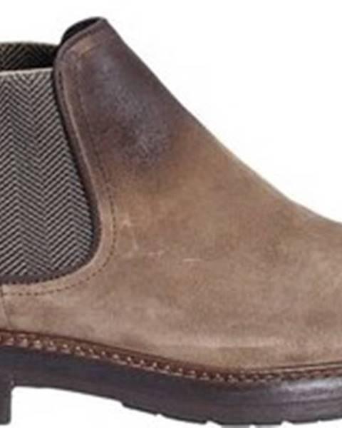 Hnědé boty Exton