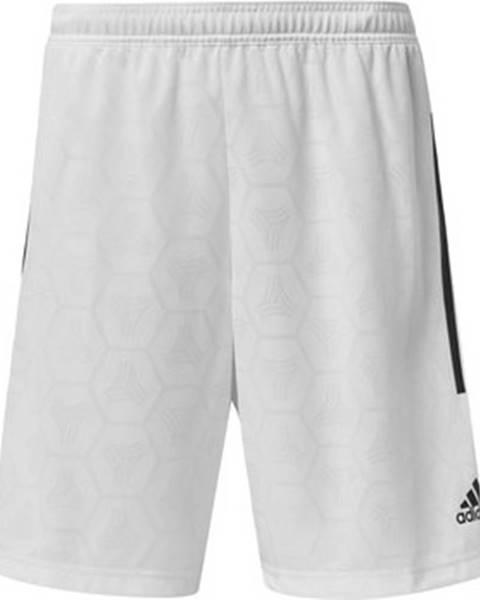 Bílé kraťasy adidas