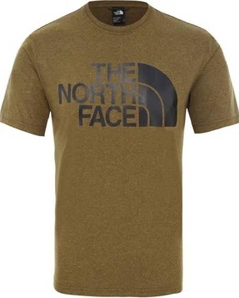 Hnědé tričko The North Face