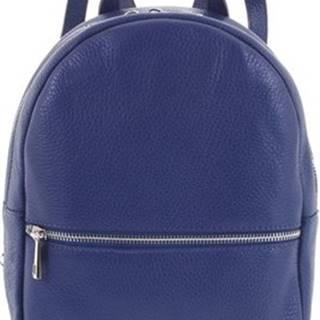 Italy Batohy Dámský kožený batůžek tmavě modrý - Mouseph ruznobarevne