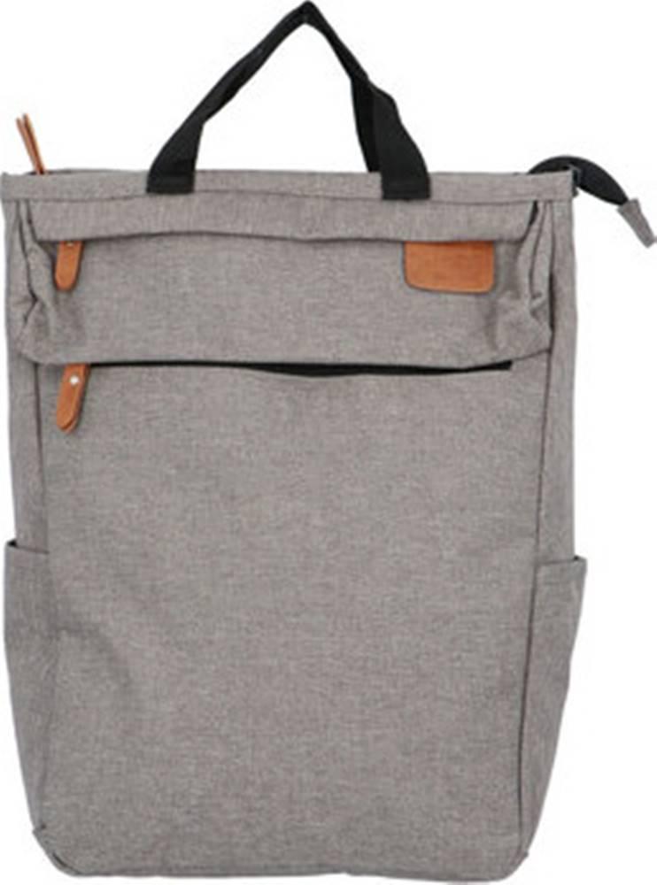 New Rebels Batohy Trendy a stylový šedý látkový batoh - Genderus