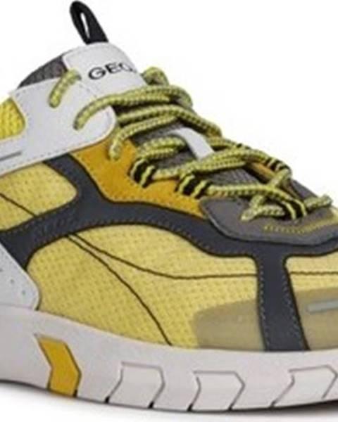 Žluté tenisky geox