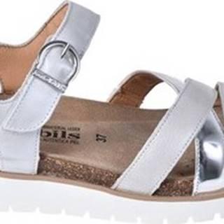 Sandály P5130220 Bílá