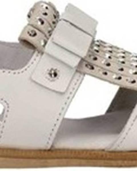 Bílé sandály Melania