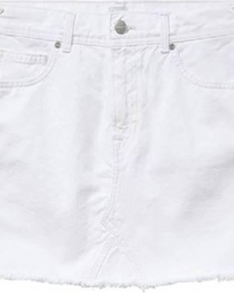 Bílá sukně pepe jeans