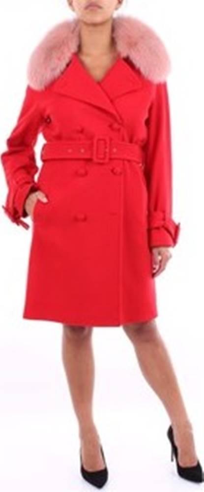 Blumarine Kabáty 40444 Červená