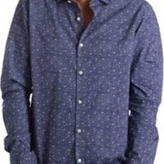 Košile s dlouhymi rukáv 971166/02 Modrá