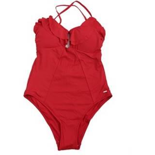 Pepe jeans jednodílné plavky PLB10278 Červená