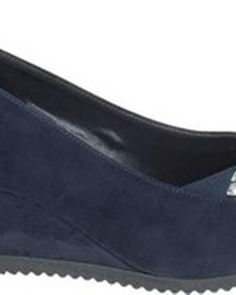 Modré baleríny Grace Shoes
