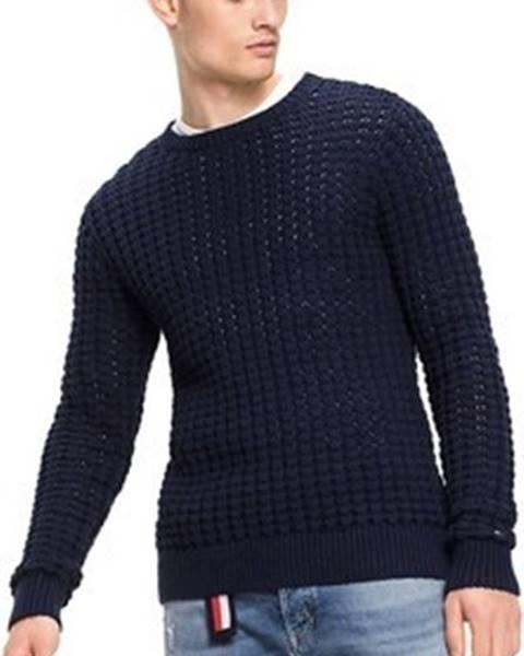 Modrý svetr tommy hilfiger