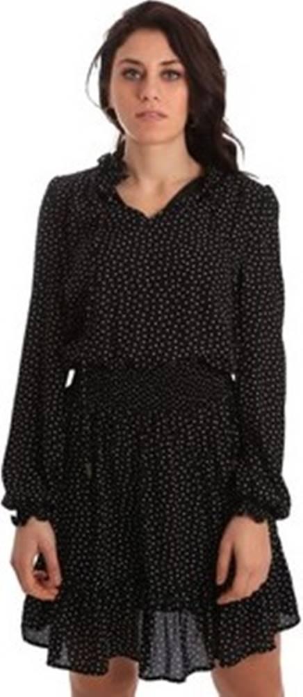 GAUDÌ Gaudi Krátké šaty 921BD15003 Černá