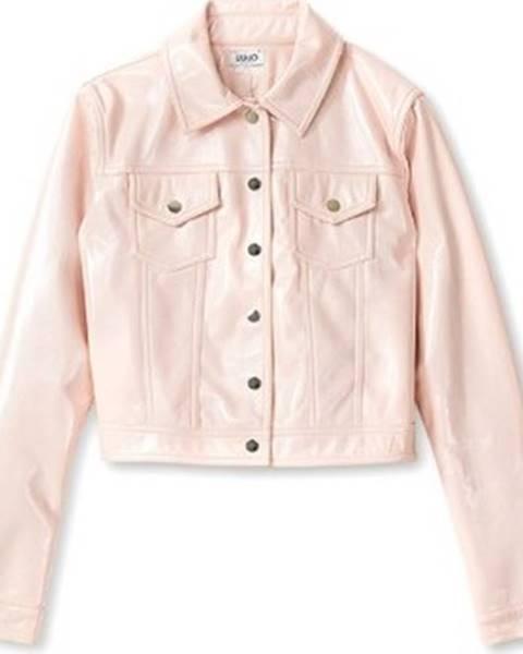 Růžová bunda Liu.Jo
