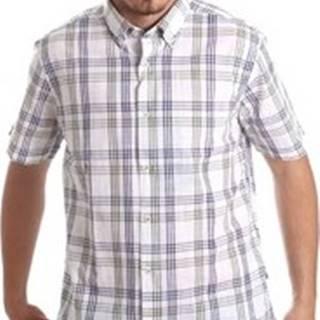 Košile s krátkými rukávy NV91057 BD Modrá
