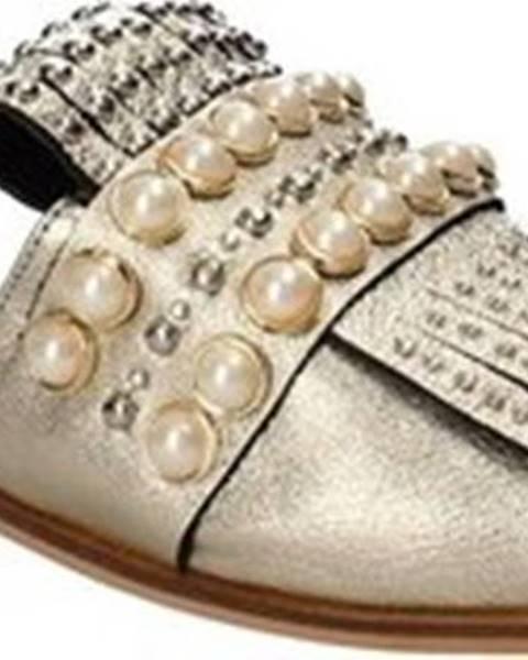 Žluté pantofle Pixy Shoes