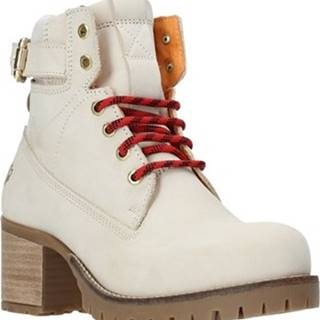 Lumberjack Kotníkové kozačky SW68501 001 D01 Bílá