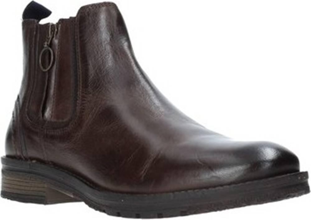 wrangler Kotníkové boty WM92061A Hnědá