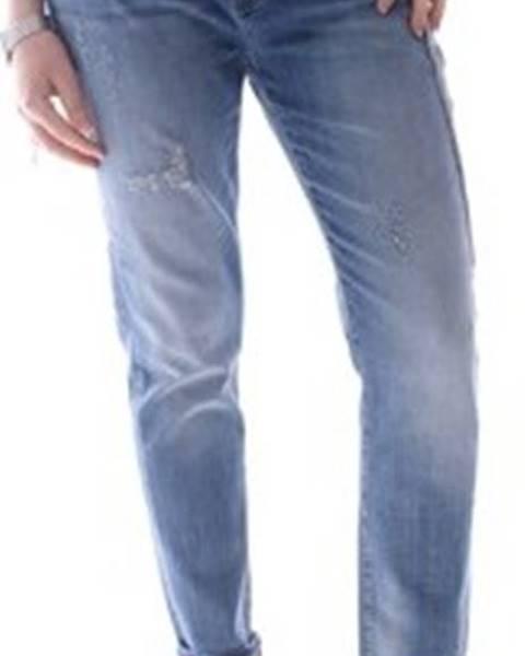 Modré kalhoty Fracomina
