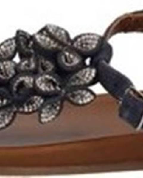 Modré sandály INUOVO