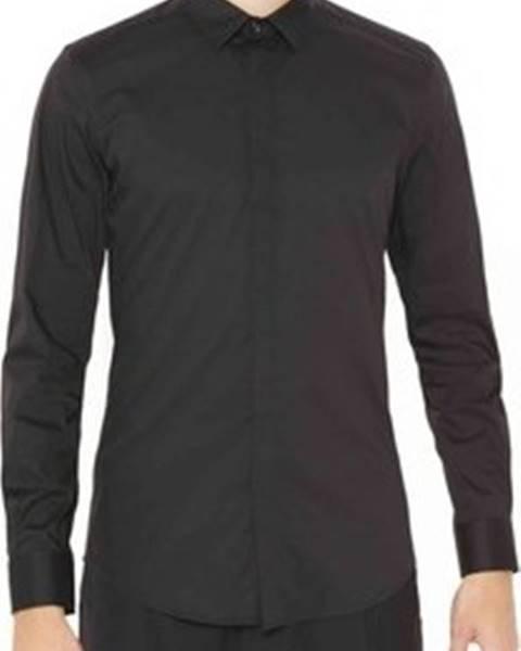 Černá košile Antony Morato
