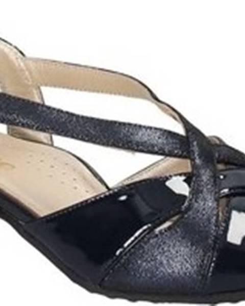 Modré sandály Grace Shoes