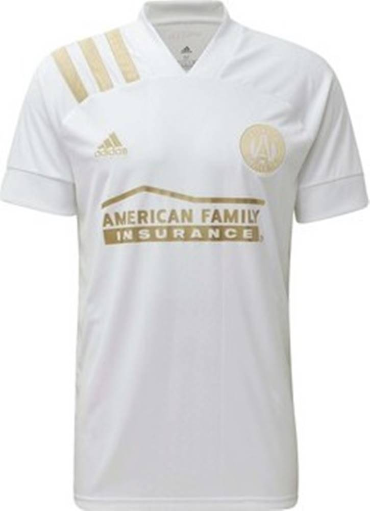 adidas adidas Trička s krátkým rukávem Venkovní dres Atlanta United FC Bílá