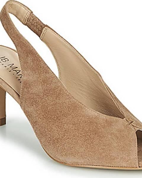 Béžové boty JB Martin