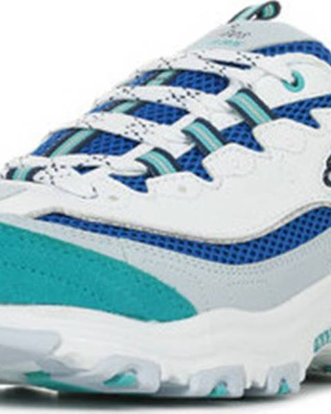 Bílé tenisky Skechers