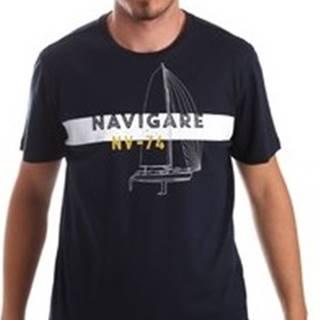 Trička s krátkým rukávem NV31088 Modrá