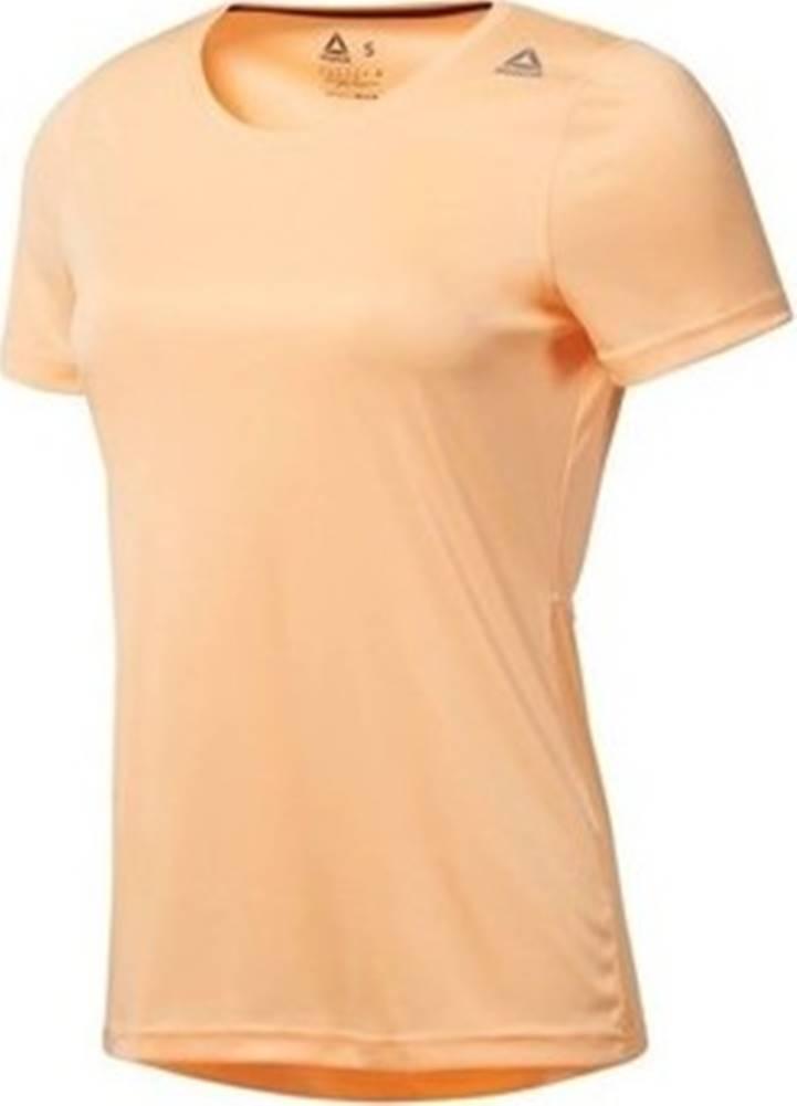 Reebok Sport Trička s krátkým rukávem Running Essentials Oranžová