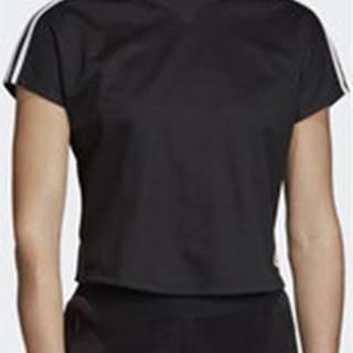 adidas Trička s krátkým rukávem Tričko AtTEEtude Černá