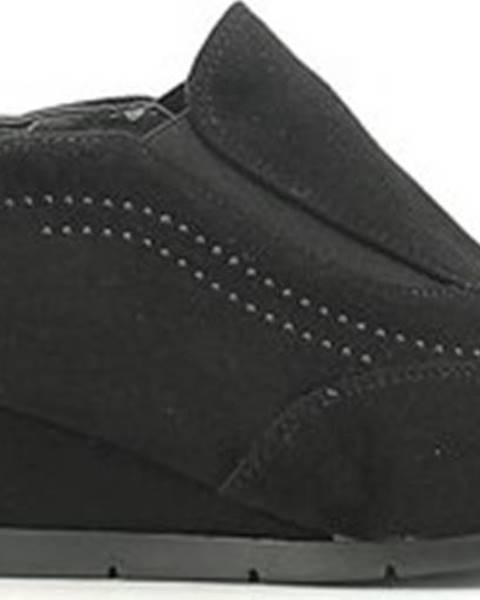 Černé boty Grace Shoes