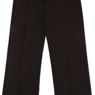 Ležérní kalhoty BIF1I68C96600 Černá
