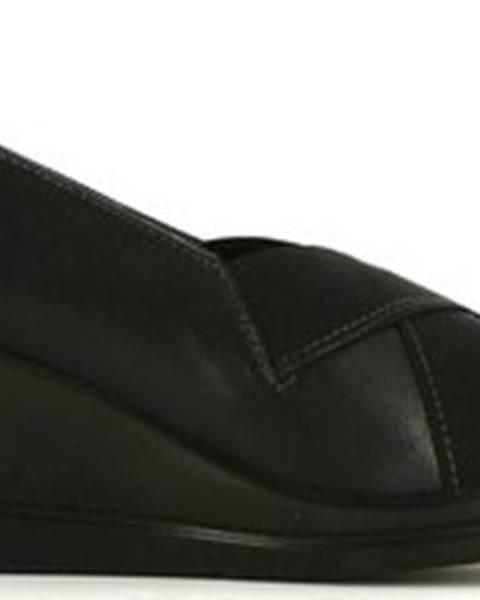 Černé baleríny Grace Shoes