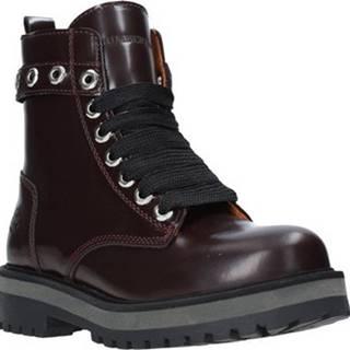 Lumberjack Kotníkové boty SW50501 003 B36 Červená