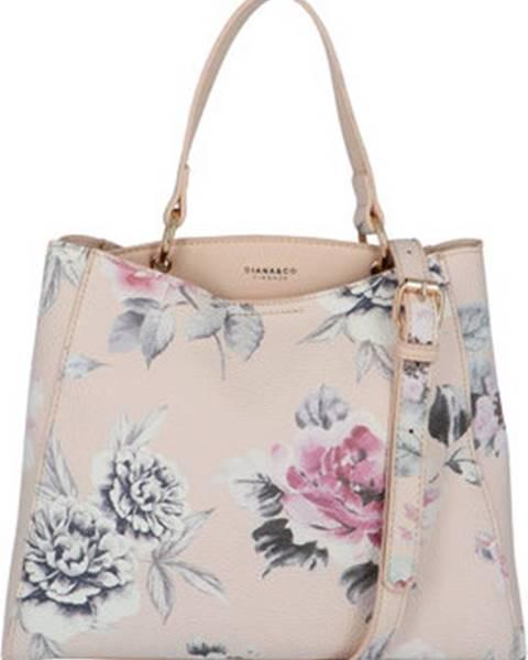 Růžová kabelka Diana & Co