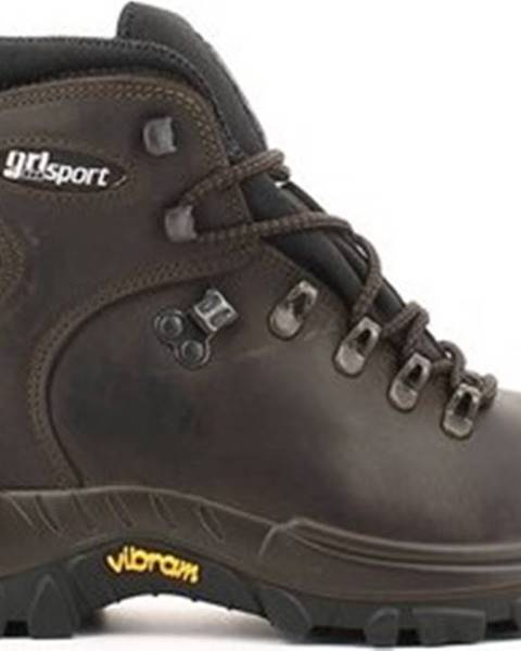 Hnědé boty Grisport