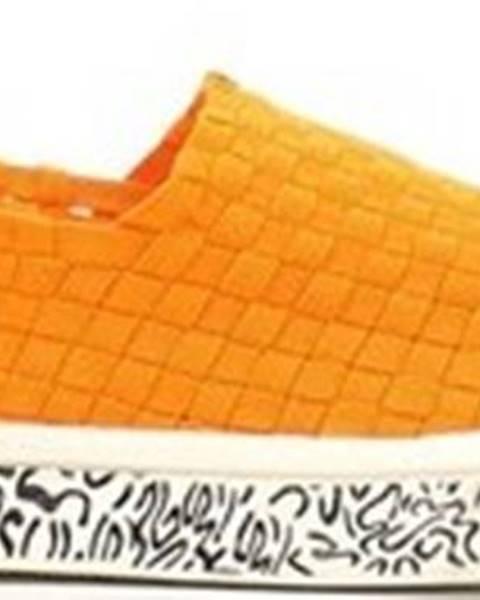 Oranžové boty ROCK SPRING